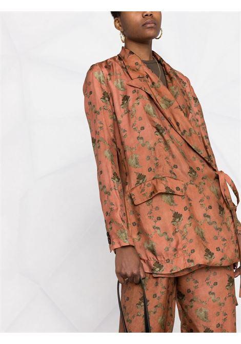 giacca sfoderata allacciata lateralmente UMA WANG | Giacca | UW6025UW552