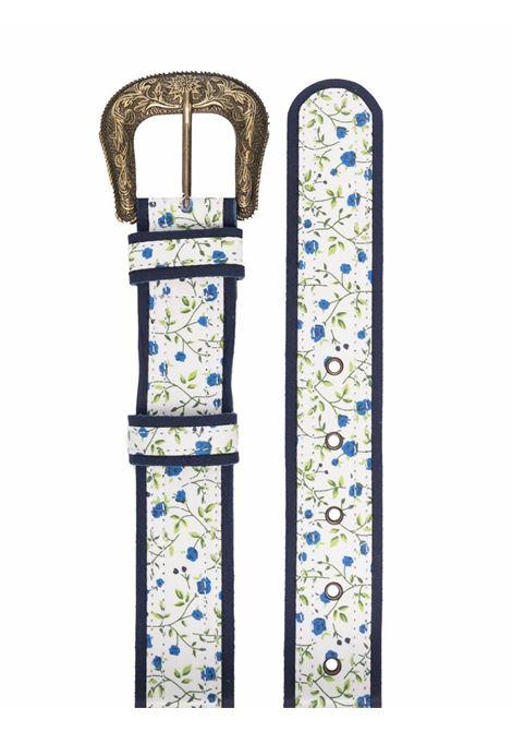 cintura in tessuto fiorato con fibbia dorata VIVETTA | Cintura | 6611-6932S1K1