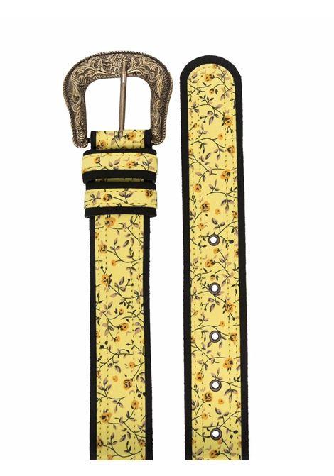 cintura con fibbia dorata in tessuto fiorato VIVETTA | Cintura | 6611-6932S3K1