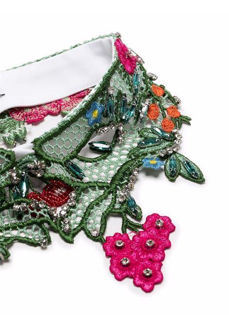 Colletto in pizzo a fiori con strass VIVETTA | Collo | 6911-06500001