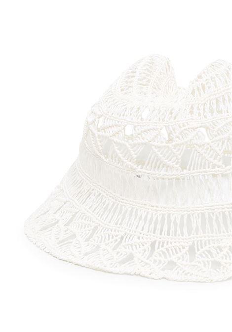 Cappello lavorato a mano con orecchie VIVETTA | Cappello | 7131-69571101