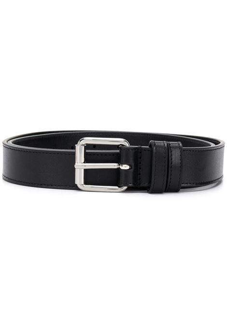 Cintura in pelle nera con fibbia WALLETS COMME DES GARCONS | Cintura | SA09121