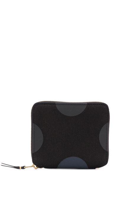 Portafoglio a pois con zip WALLETS COMME DES GARCONS | Portafogli | SA2100RD1