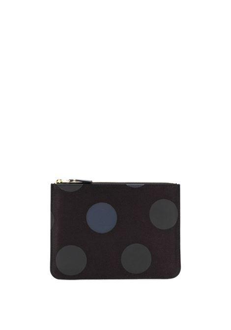 Portafoglio a pois con zip WALLETS COMME DES GARCONS | Portafogli | SA5100RD1