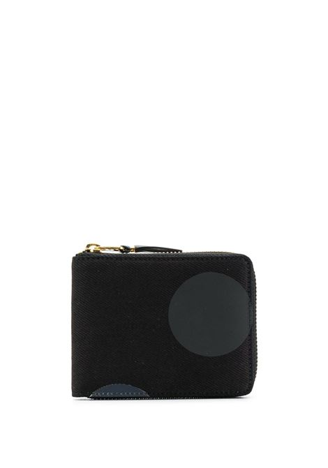 Portafoglio a pois con zip WALLETS COMME DES GARCONS | Portafogli | SA7100RD1