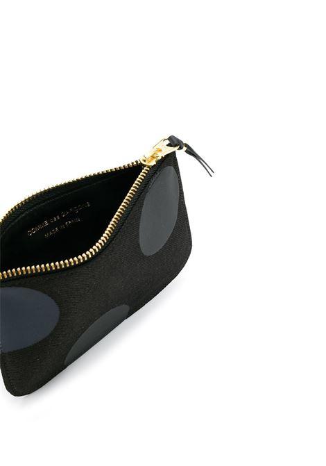 Portafoglio a pois con zip WALLETS COMME DES GARCONS | Portafogli | SA8100RD1