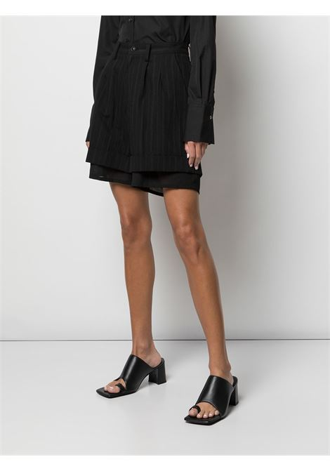 Shorts a righe, a due strati Y's | Shorts | YD-P02-0102