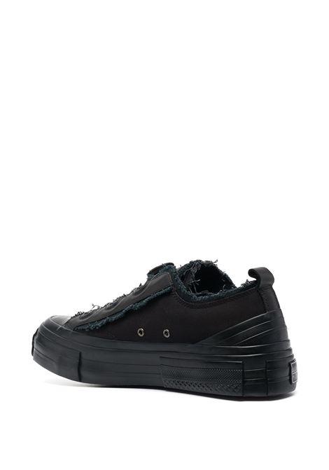 Sneakers con dettagli sfrangiati YOHJI YAMAMOTO | Scarpe | HD-E07-8601