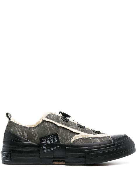Sneakers con stampa e dettagli sfrangiati YOHJI YAMAMOTO | Scarpe | HD-E08-8611