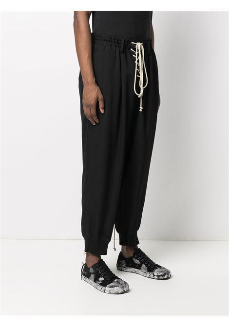 Pantaloni con cavallo basso YOHJI YAMAMOTO | Pantalone | HD-P56-1002