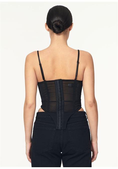 corsettocon gancetti VAQUERA | Top | VAQ01B0211