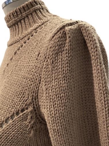 Maglia con collo a lupetto in lana DONDUP   5032251   DT002M00734D002728