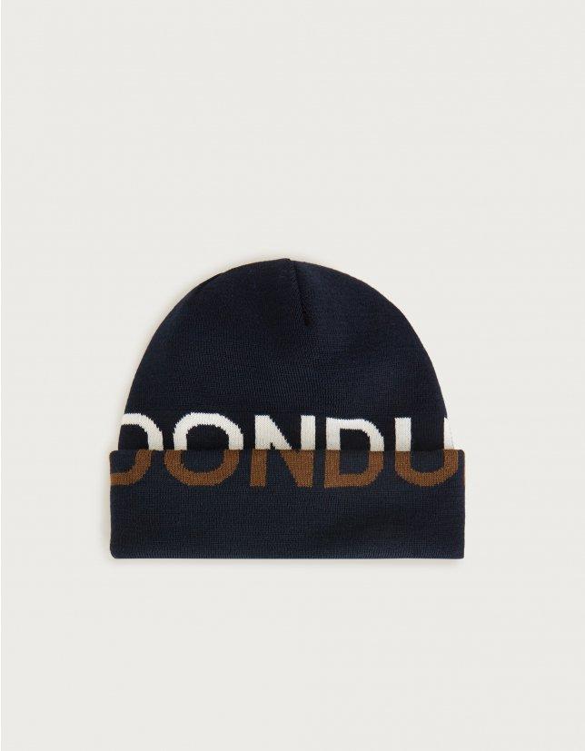 Dondup Cappello con logo jacquard in lana DONDUP | 26 | UQ087Y00475U890