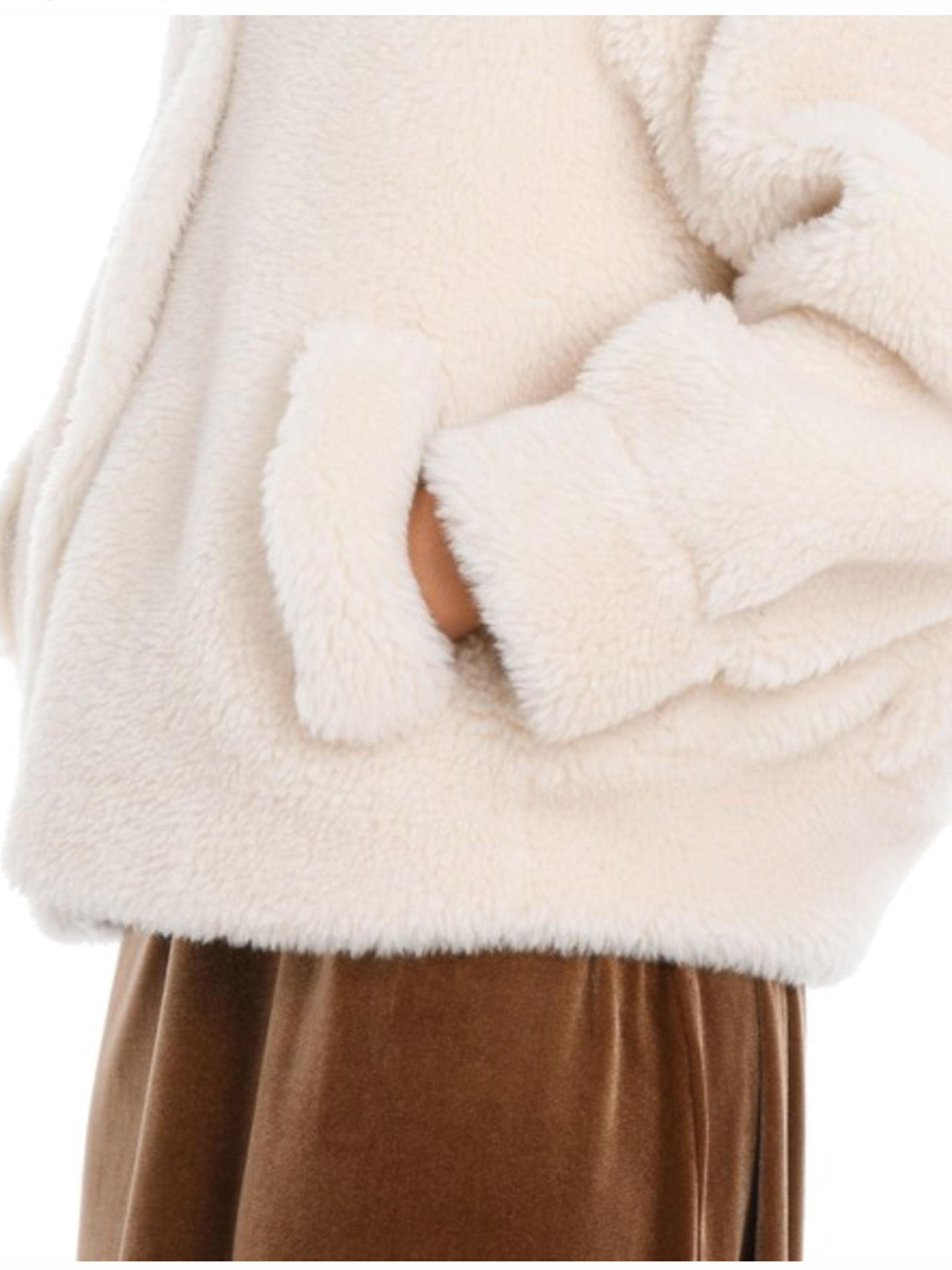 Altea Giaccone corto in shearling con tasche laterali Altea | 18 | 206750028/R