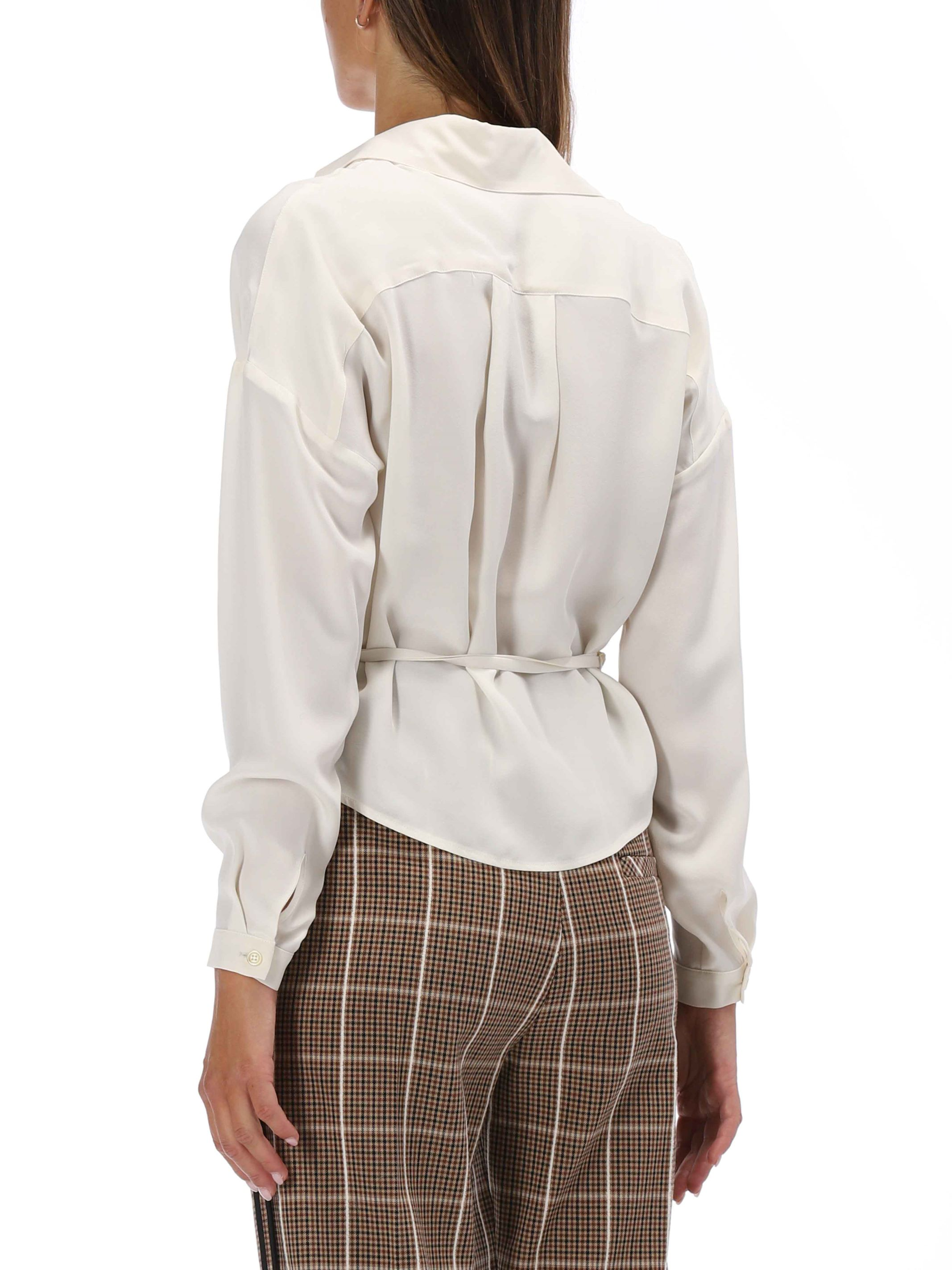 Alysi blusa in seta portafoglio AlYSI | 6 | 150241A02531