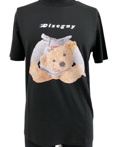 Disegny Shirt  in cotone stampa bear DISEGNY   8   IC23 SHIRT1