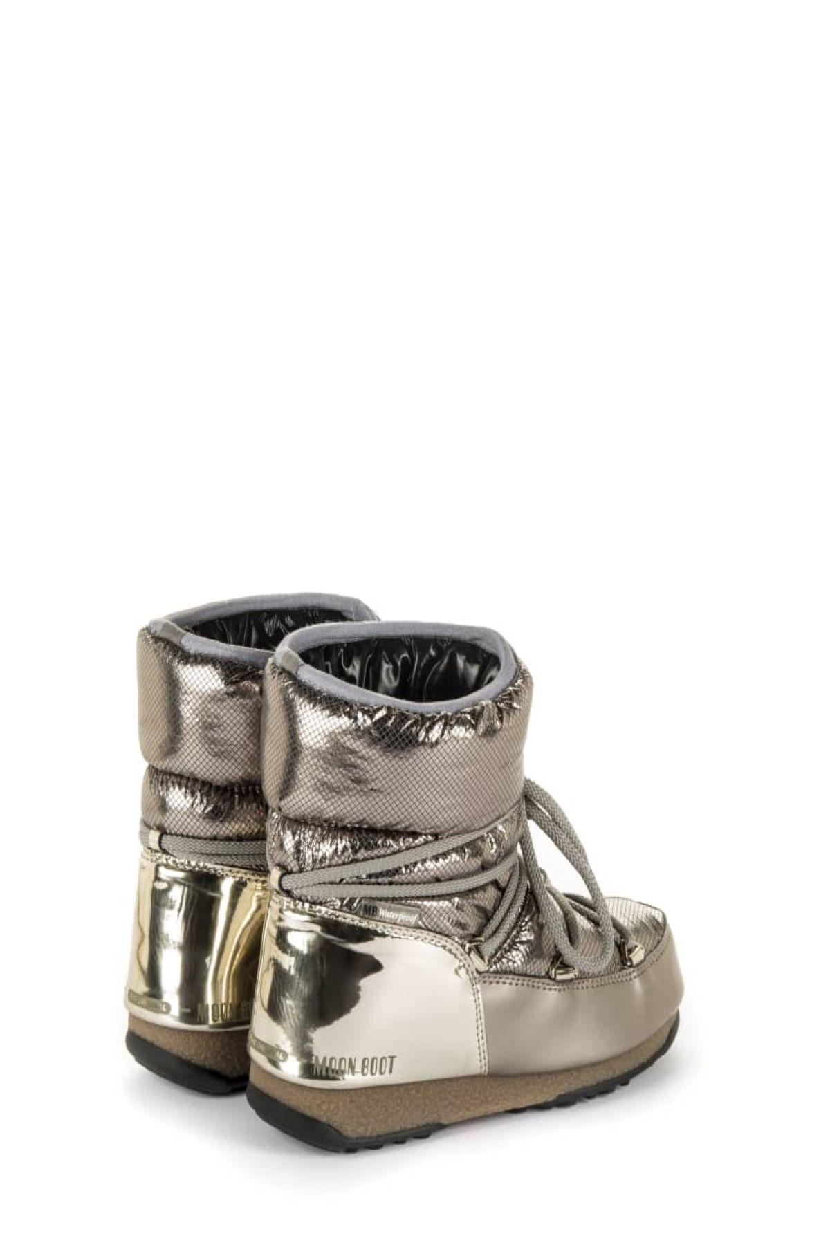 Moon Boot Low Saint Moritz WP Platino Donna MOON BOOT | 12 | 24009001