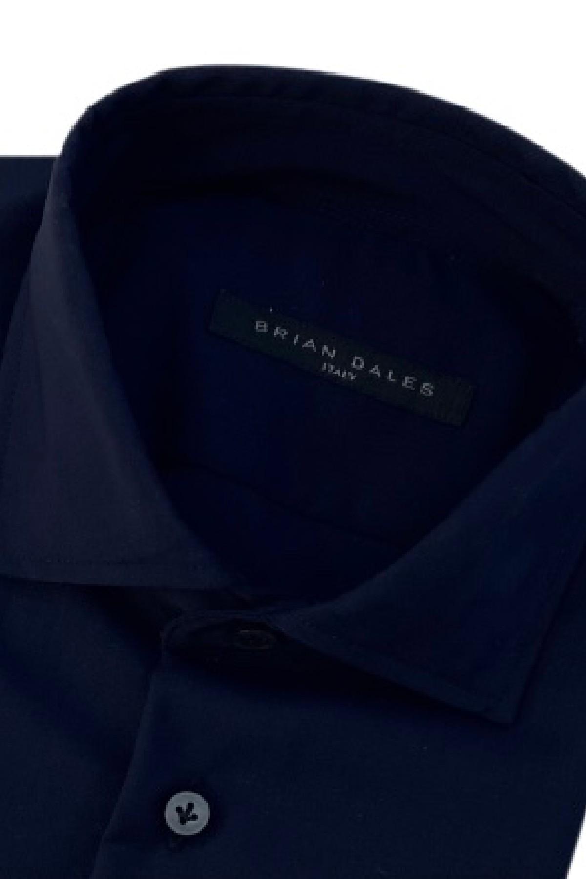 camicia fresco lana tinta unita basic BRIAN DALES   6   BS50SPST8428003