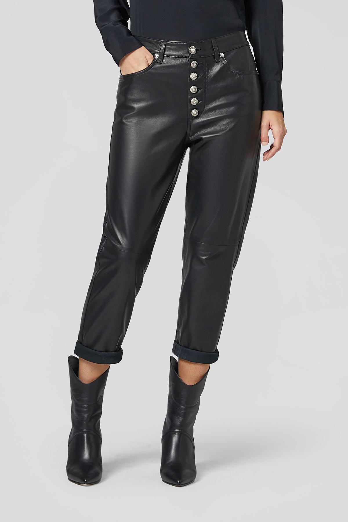 pantalone loose Koons in nappa DONDUP | 9 | DP268BPL0284D999