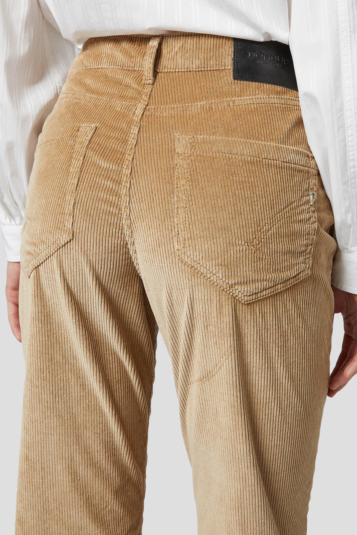 pantalone koons millerighe costa media DONDUP | 9 | DP268BVS0024D040