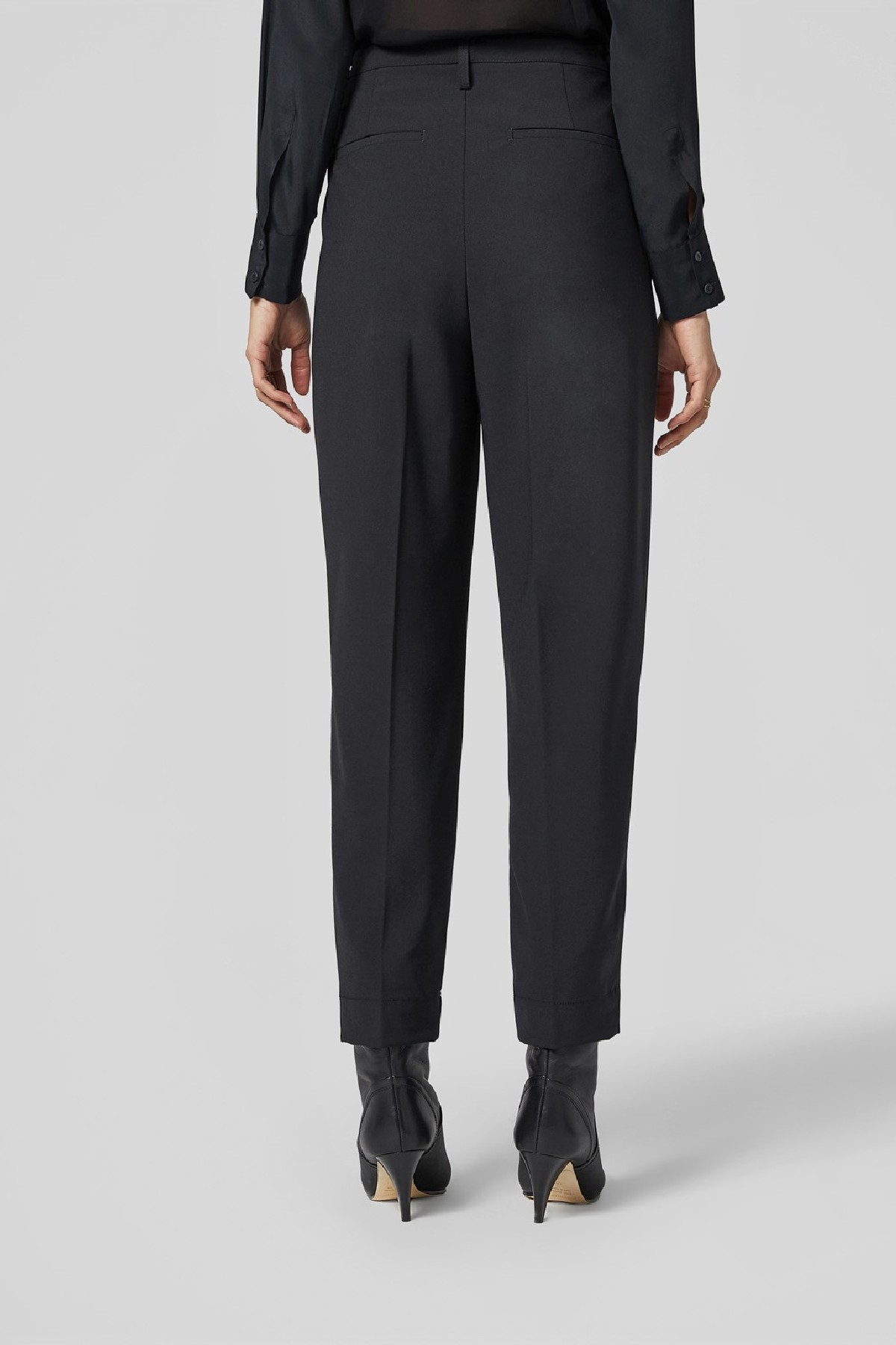 pantalone loose naima in techno flannel  DONDUP   9   DP543OS0105D999