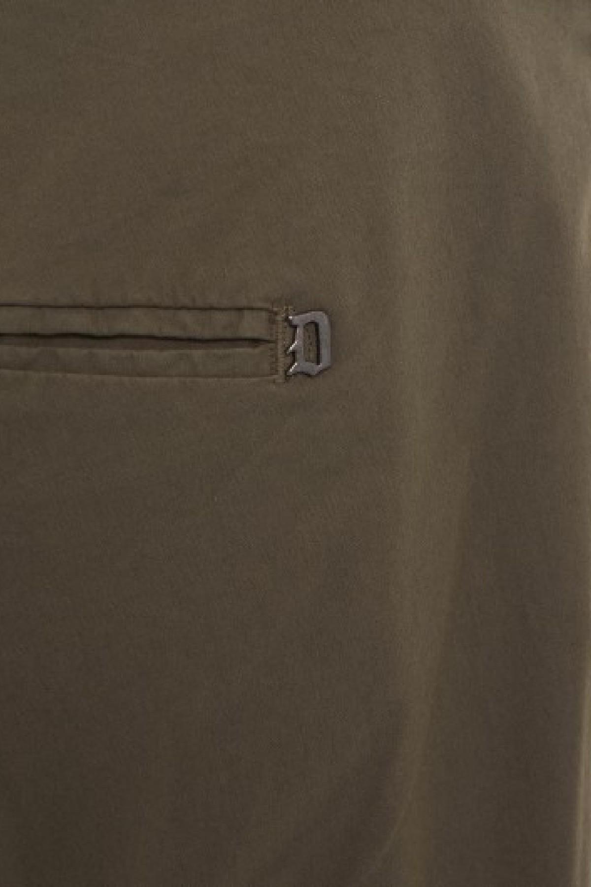 pantalone slim gaubert in raso stretch DONDUP | 9 | UP235RS0041U637