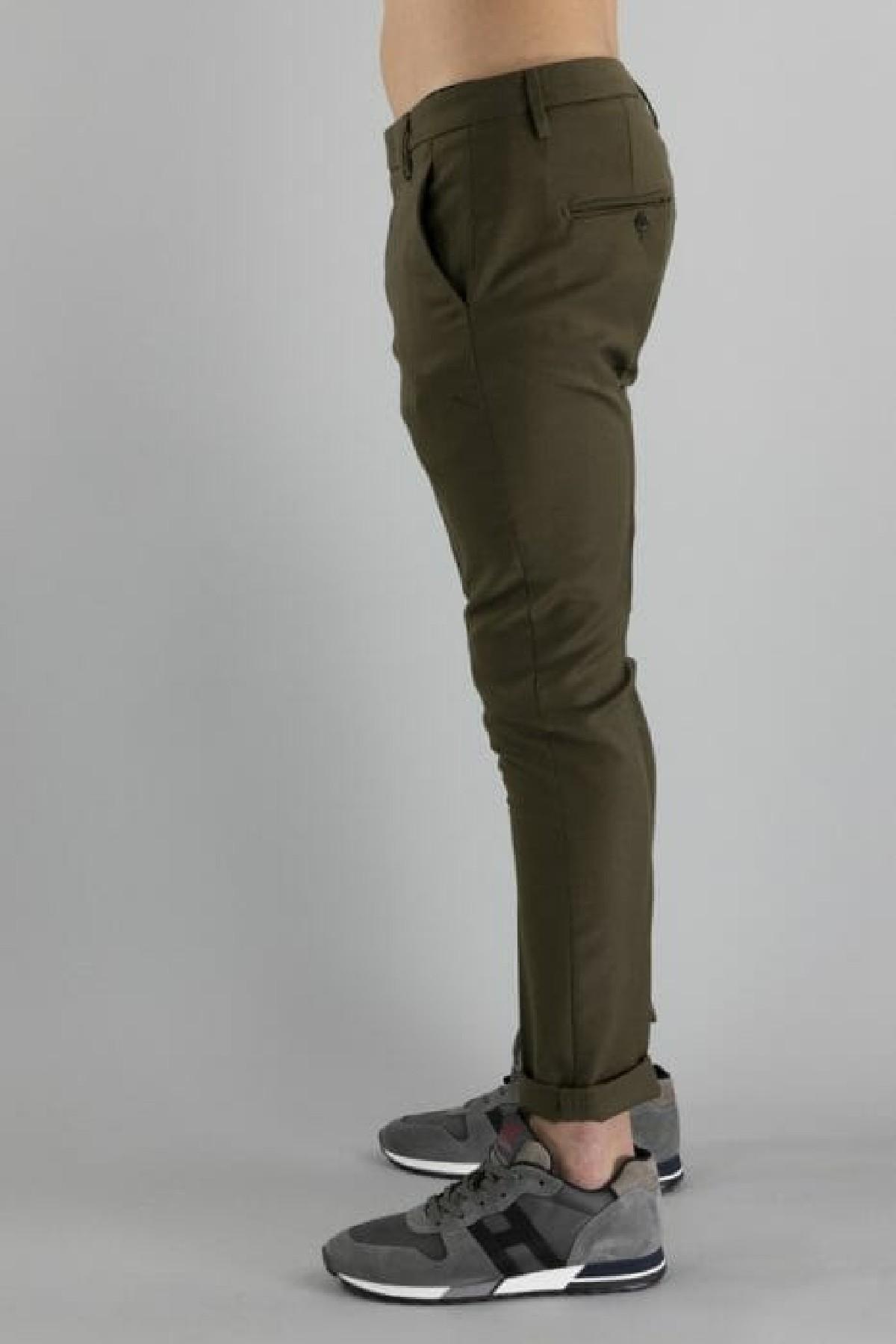 pantalone slim fit in lana stretch DONDUP   9   UP235WS0105U656