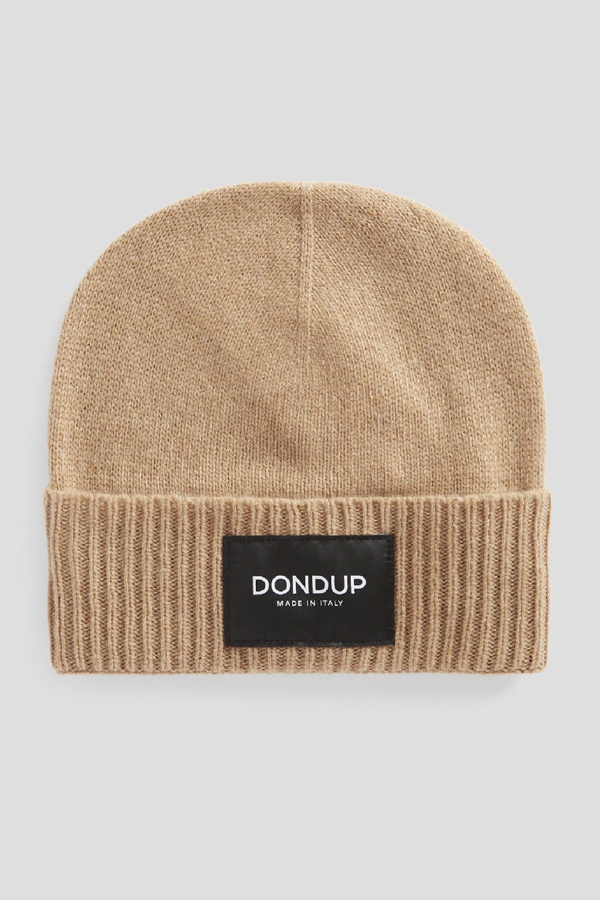 cappello in cachemire con etichetta logo DONDUP   26   UQ100Y00480U728