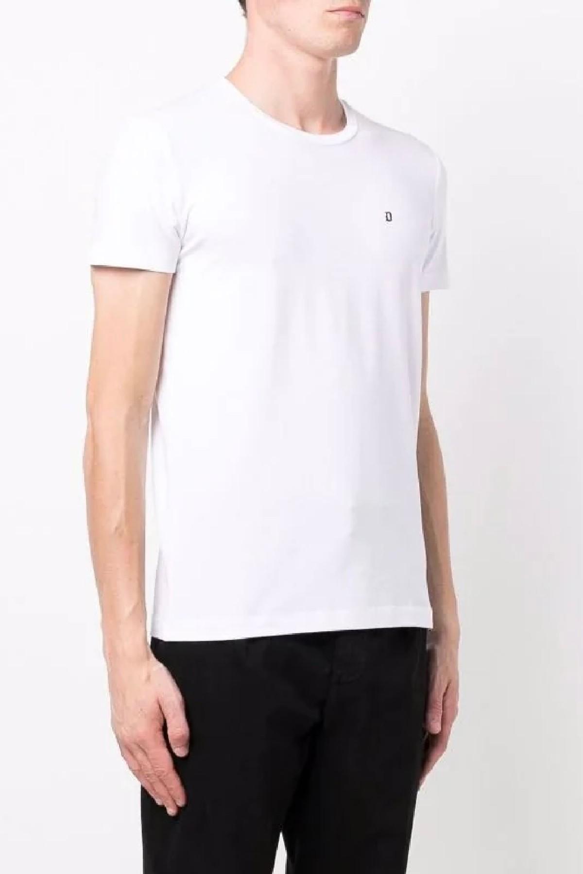 t-shirt slim in jersey stretch DONDUP | 8 | US221JS0125UZL4000