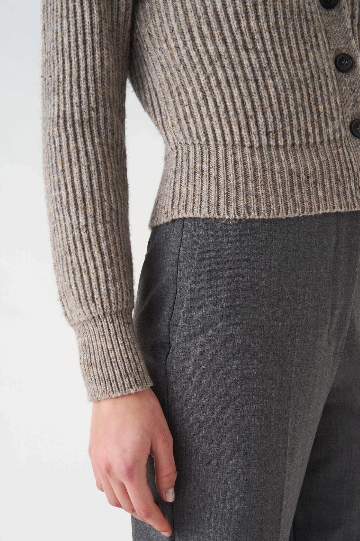 cardigan in maglia costa inglese  Grifoni   39   GL210032/77039