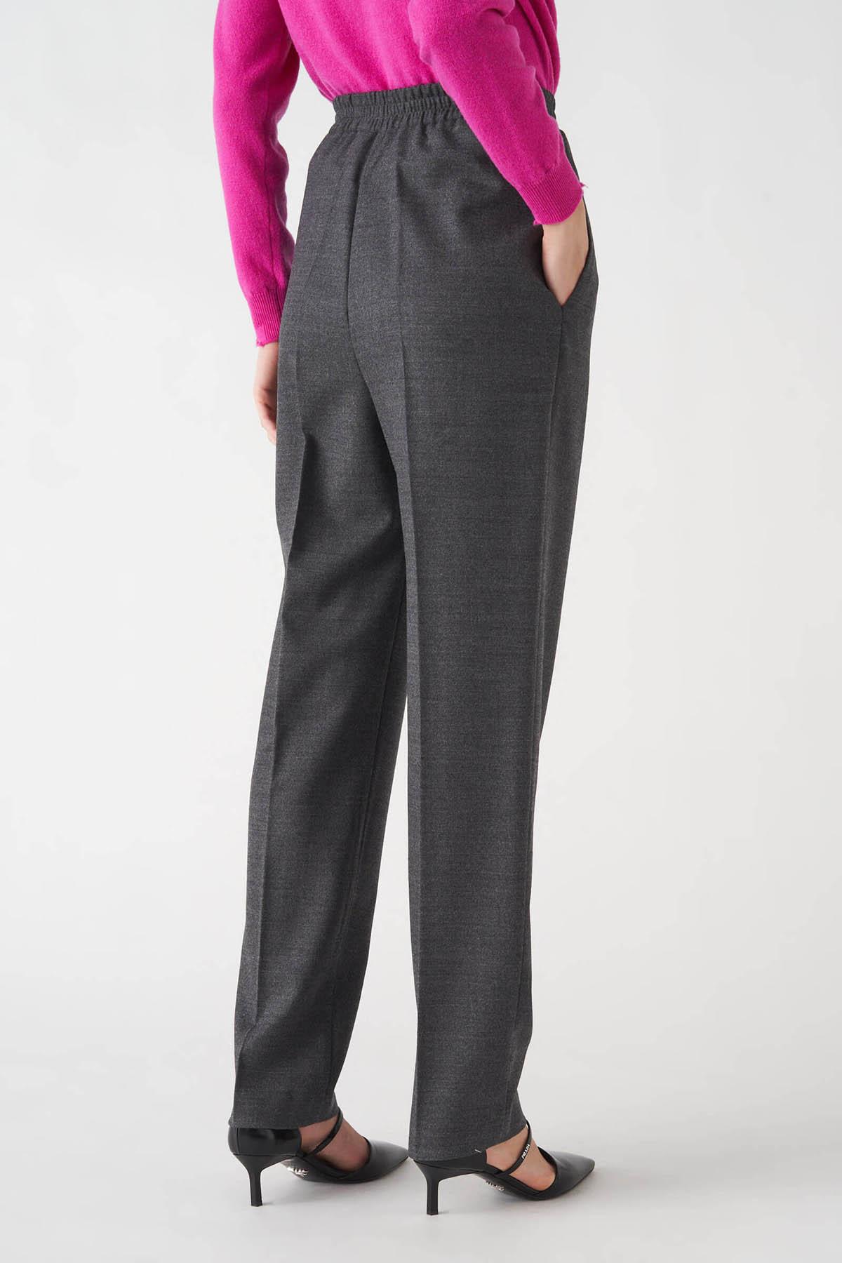 pantalone pinces lungo in flanella di lana Grifoni | 9 | GL24005L/15007