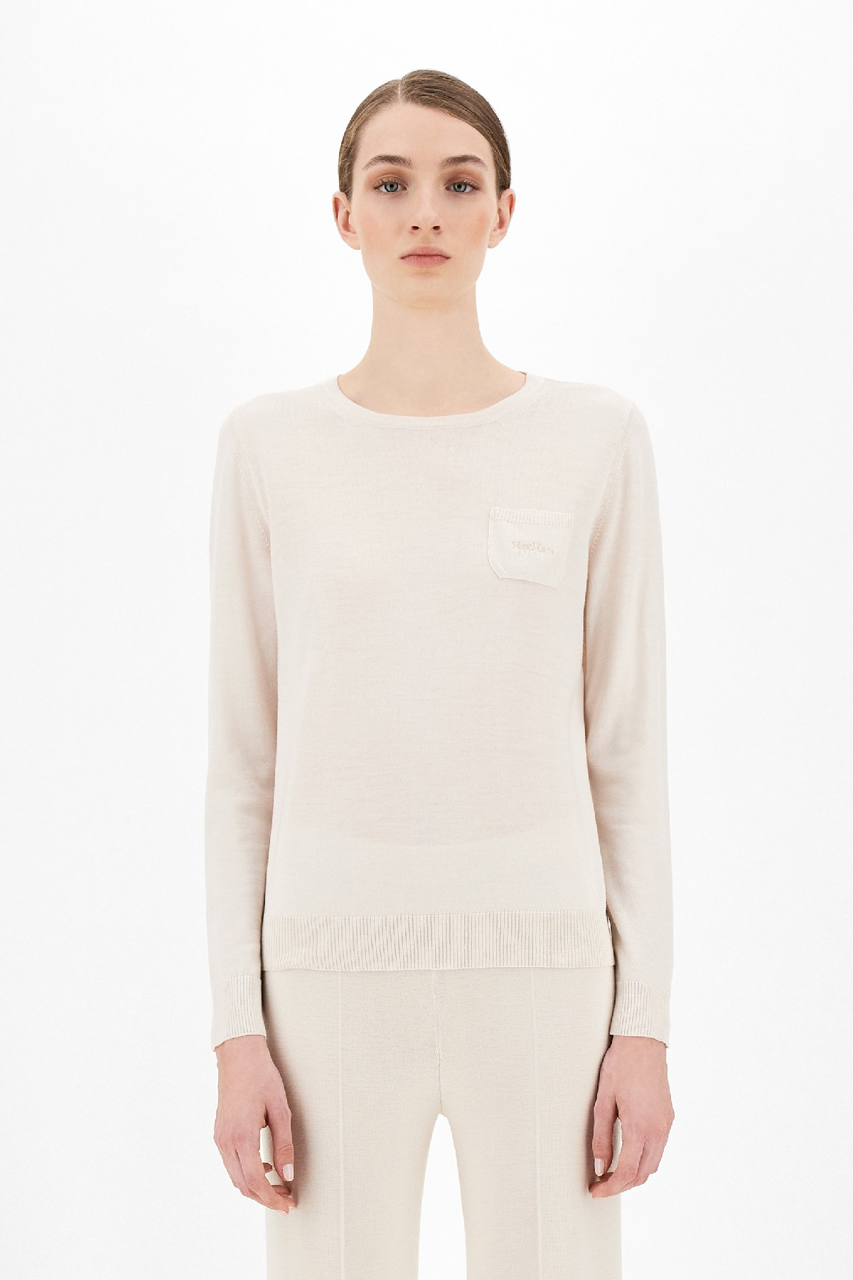 maglia micron in filato di lana MAX MARA Studio | 7 | 63661219600003