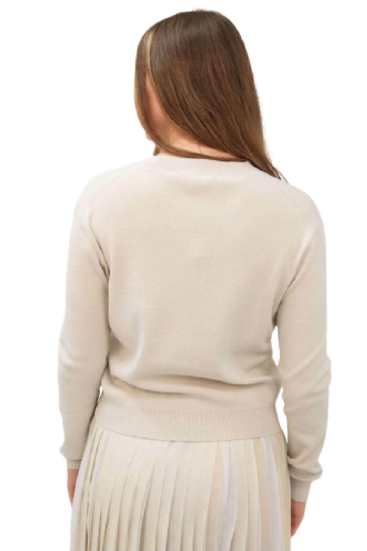 cardigan majori in maglia di lana MAX MARA WEEKEND | 39 | 53460219600002