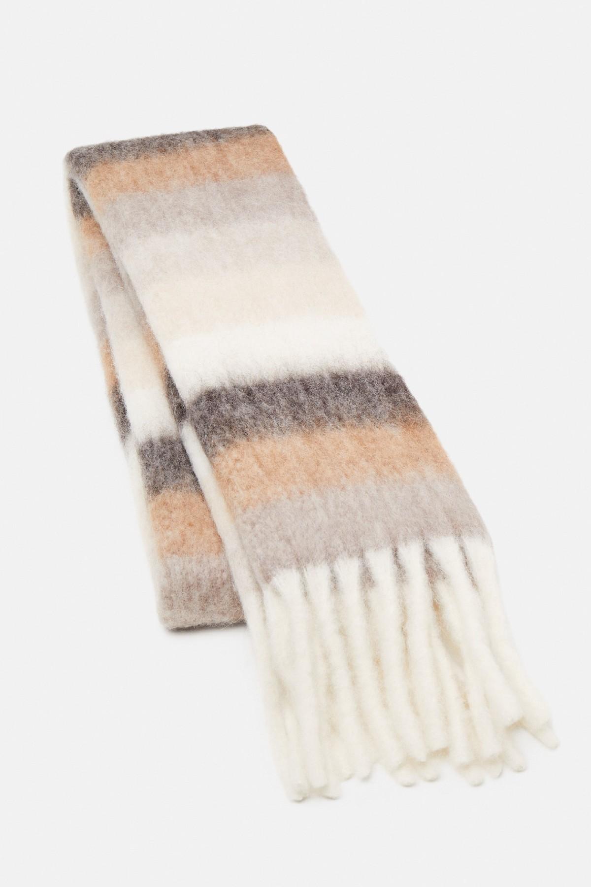 sciarpa in lana e alpaca neutro MAX MARA WEEKEND   77   55460514600001