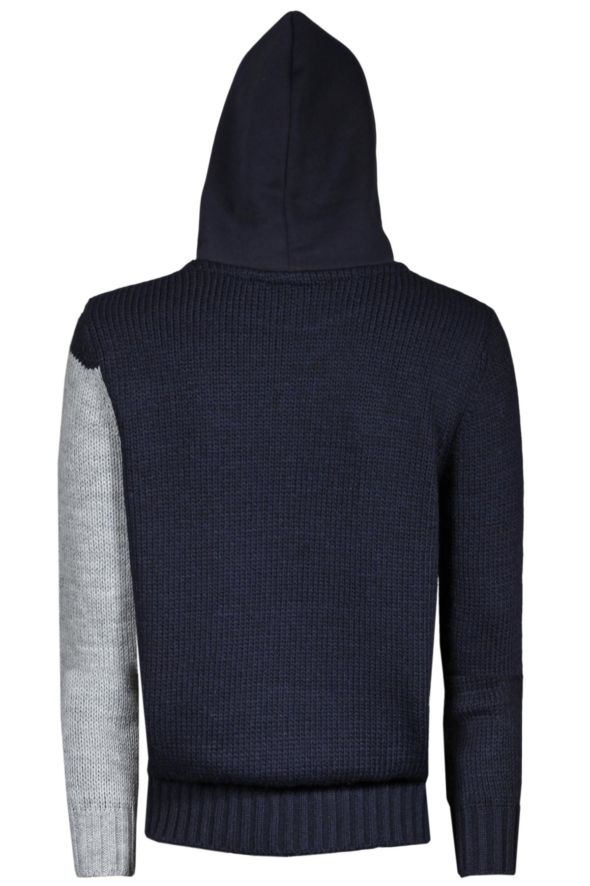 Maglia Jules in lana con cappuccio in felpa PMDS | 7 | 683MGT1
