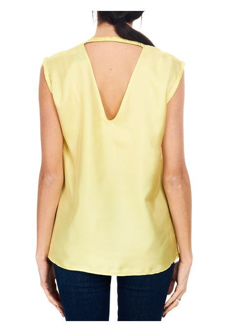 Alysi blusa twill seta scollata AlYSI   5032269   101273P12391