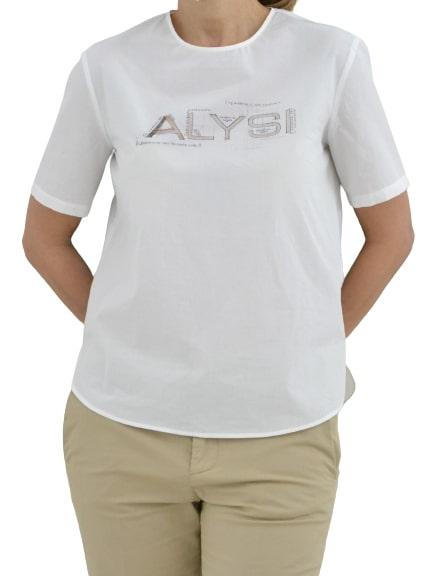 Alysi blusa popeline con stampa AlYSI | 5032269 | 101283P12271