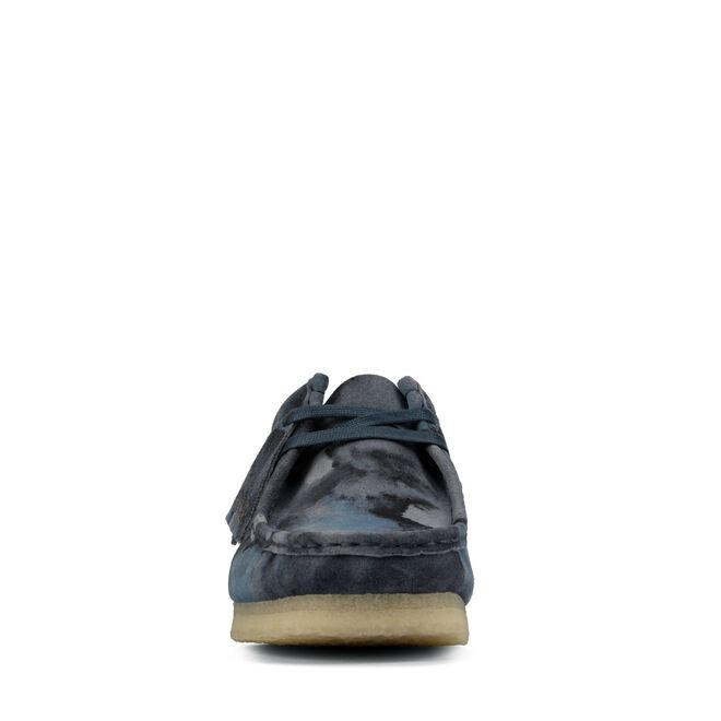 Clarks Original wallabee blue camo Clarks | 12 | 261602051
