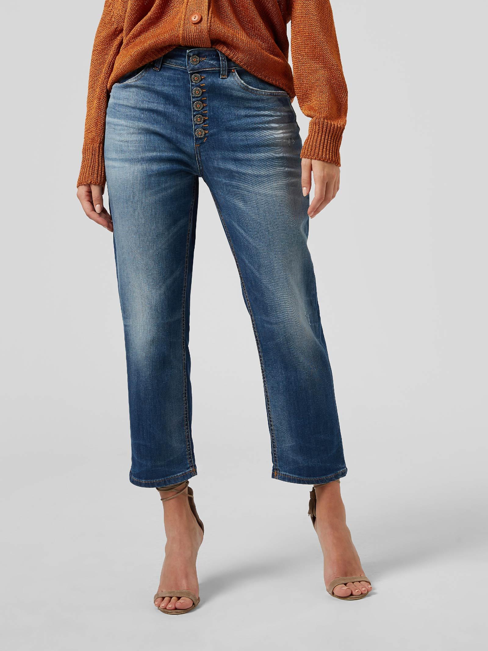 Jeans loose Koons DONDUP | 24 | DP268BDS0296DBB6
