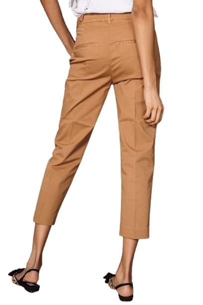 Dondup pantalone Carrot Ariel in gabardina di cotone DONDUP | 9 | DP475GSE046D012