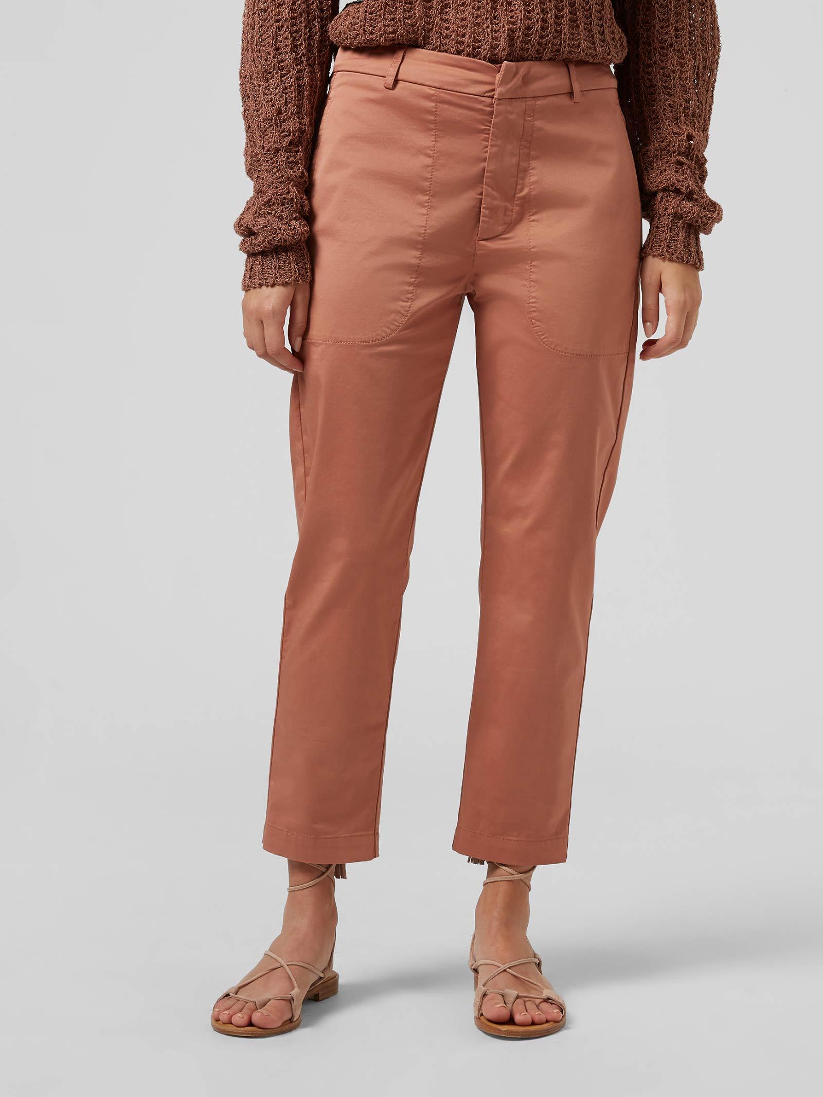 Dondup Pantalone carrot Ela in raso DONDUP | 9 | DP547RSE036D518