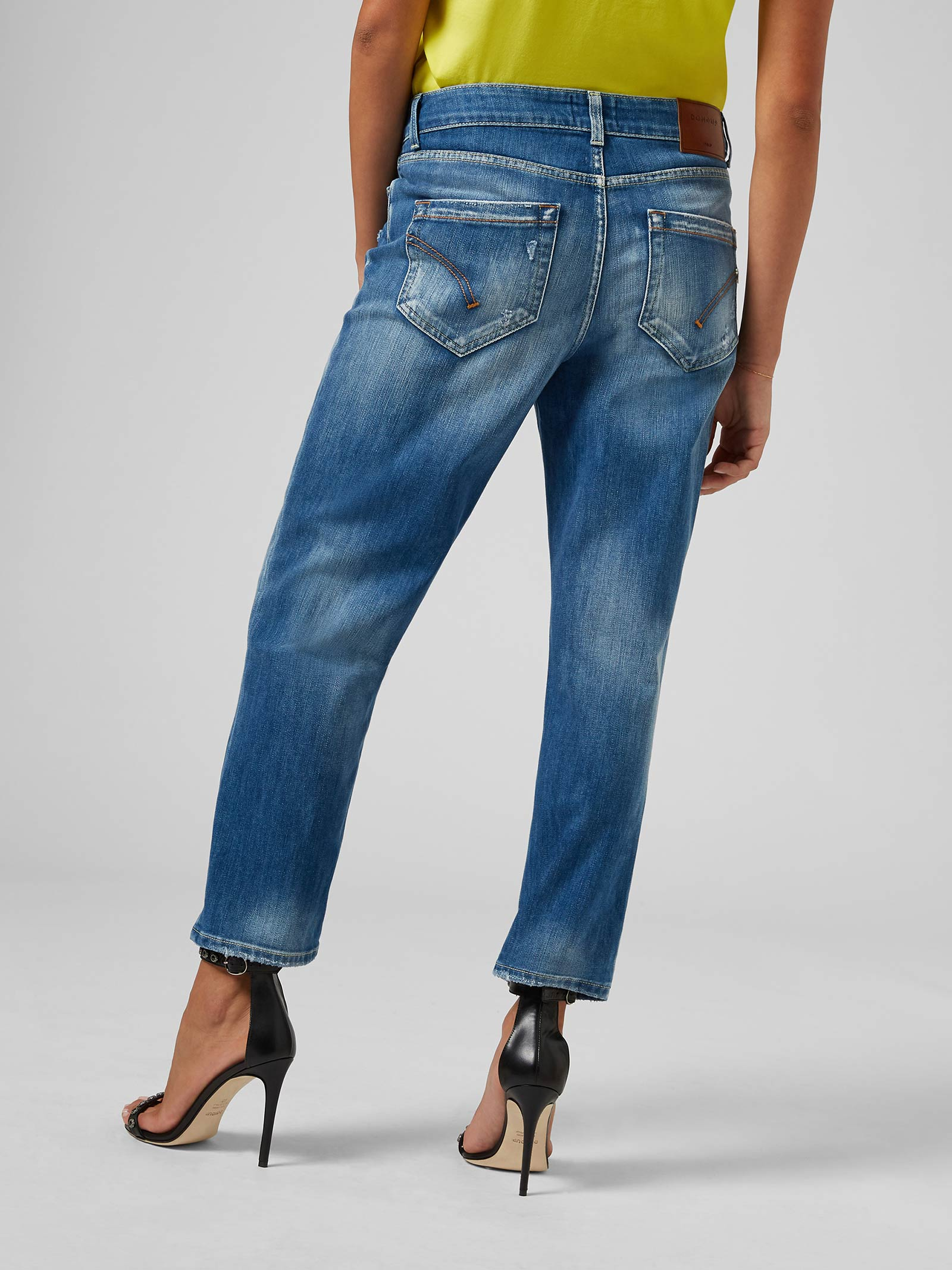 Dondup Zoe loose jeans DONDUP | 24 | DP555DS0107DBC9