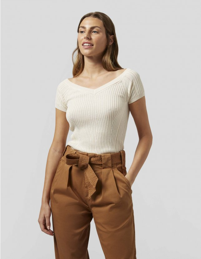 Dondup Top in cotone e viscosa DONDUP | 40 | DT094M00778D019