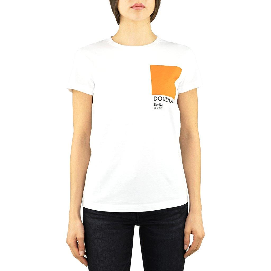 Dondup T-shirt in cotone pantone Spritz DONDUP | 8 | S856JF0284DBH4000