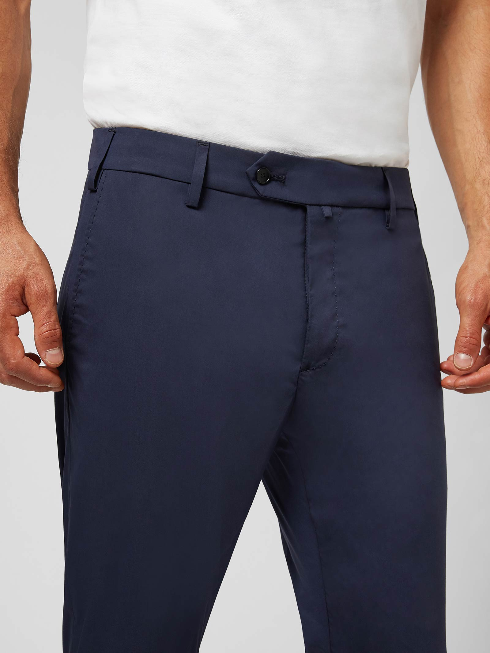 Dondup Pantalone Sartoriale Ralph in Popeline DONDUP | 9 | UP560PS0018U897