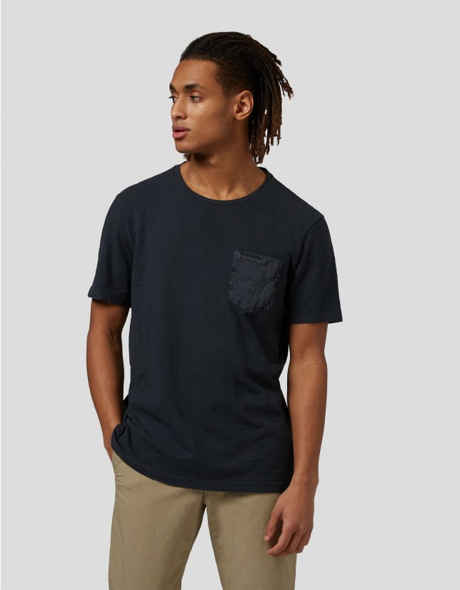 Dondup T-shirt over in jersey con taschino DONDUP | 8 | US301JF0195U999