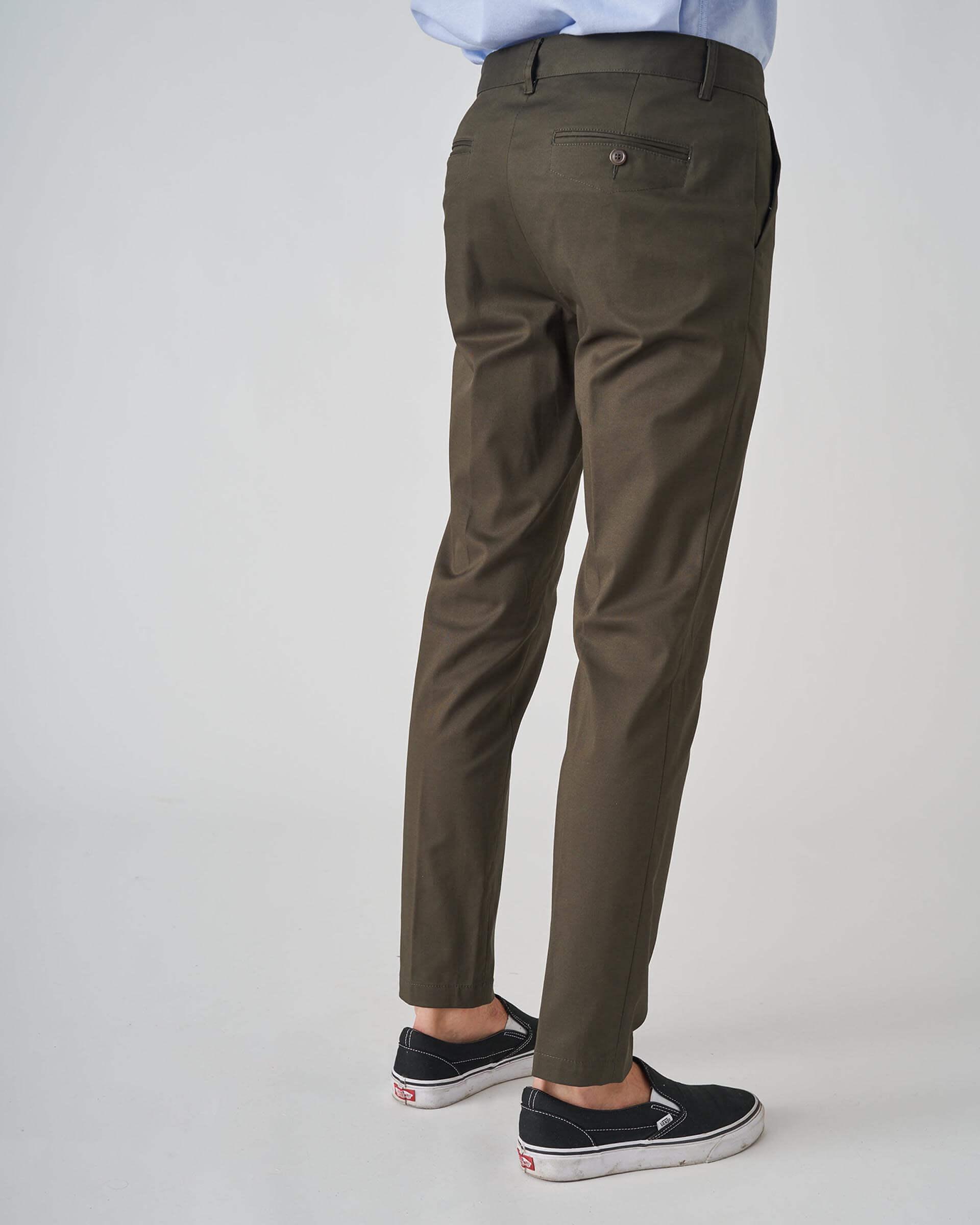 Grifoni Pantalone chino skinny Blue verde Grifoni | 9 | GI140010/29780