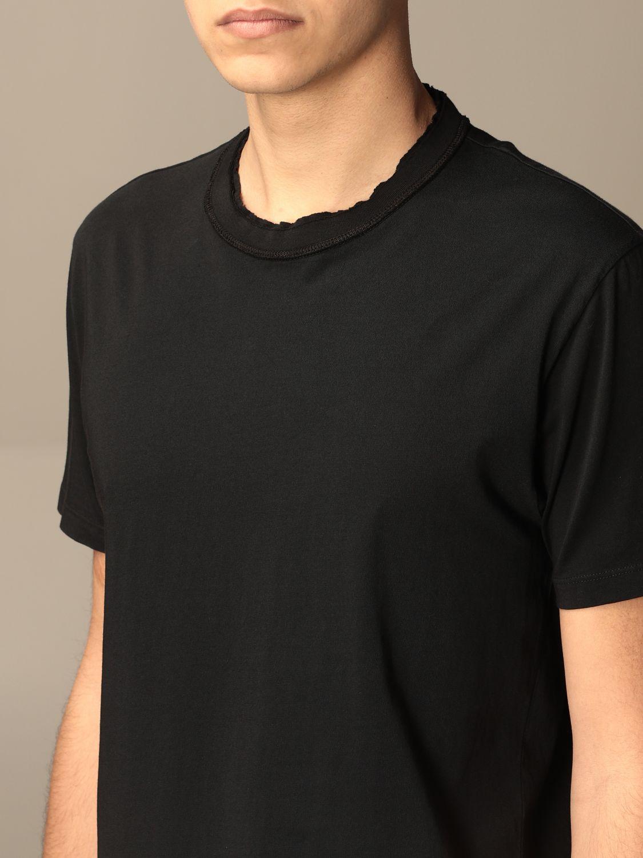 Grifoni Shirt Mezza manica taglio vivo Nera Grifoni | 8 | GI180001/55003