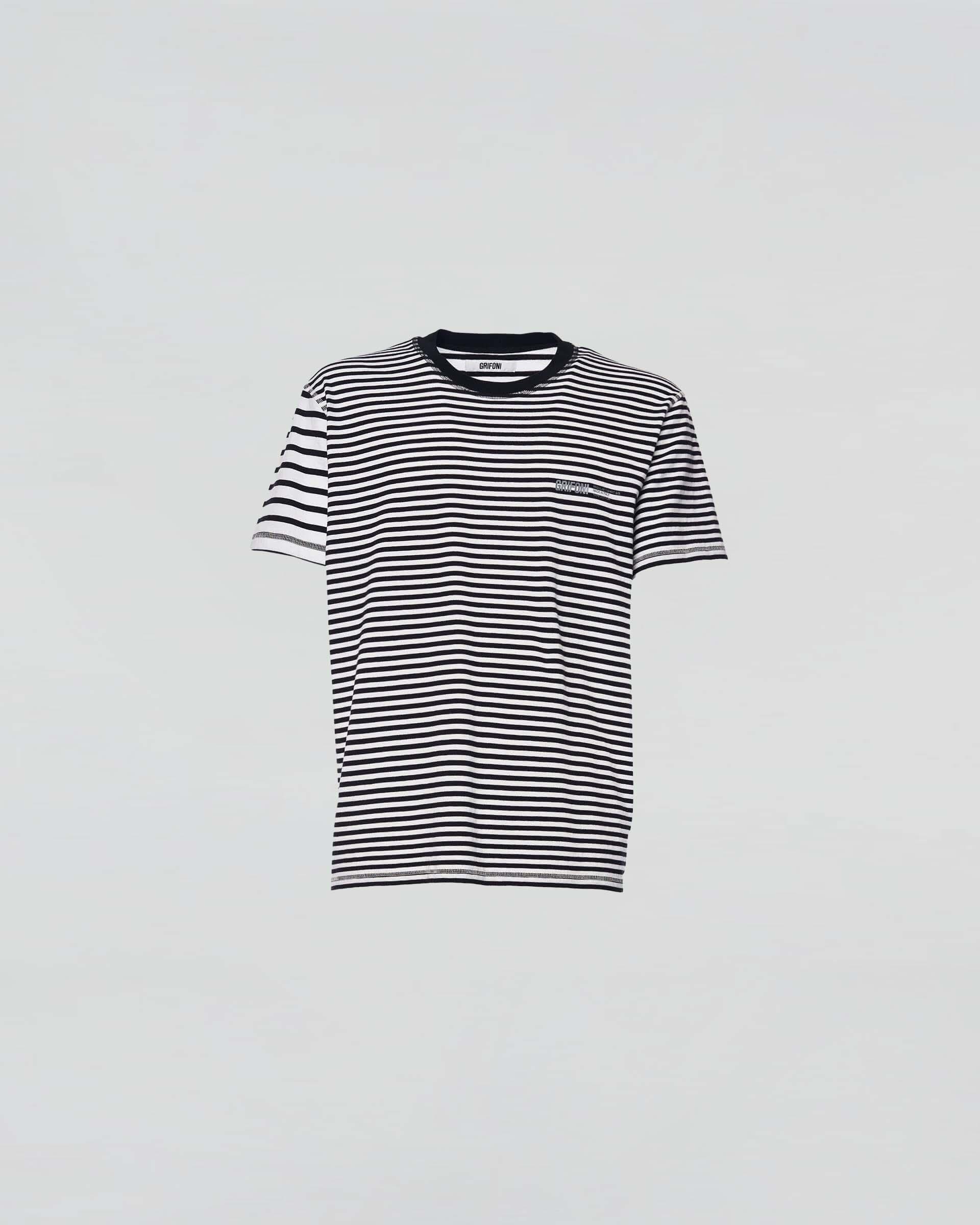 Grifoni t-shirt righe Manica Corta Grifoni | 8 | GI180013/57P4001