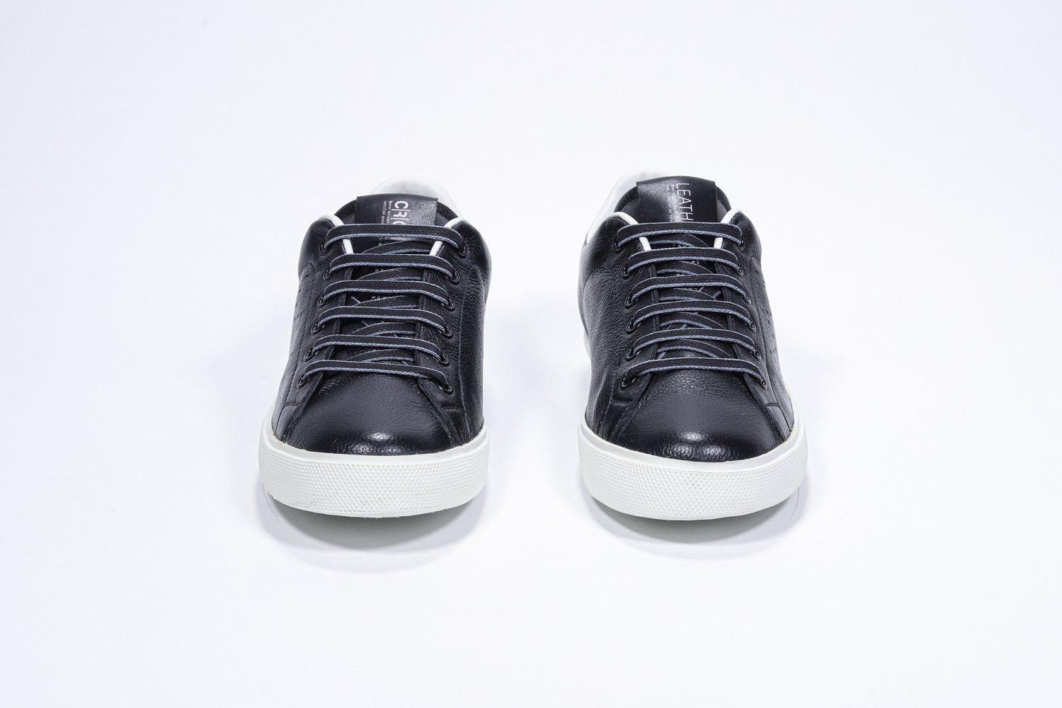 Leather Crown Sneakers in pelle iconic low top Lc06 LEATHER CROWN | 12 | LC06201061/u